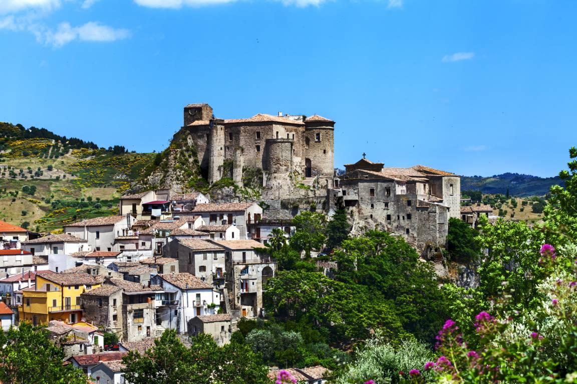 Kalabrien - Cosenza - Castello di Oriolo