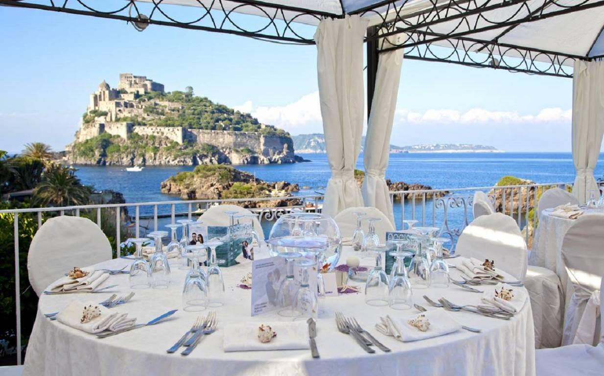 Strand Hotel Delfini Cartaromana Insel Ischia