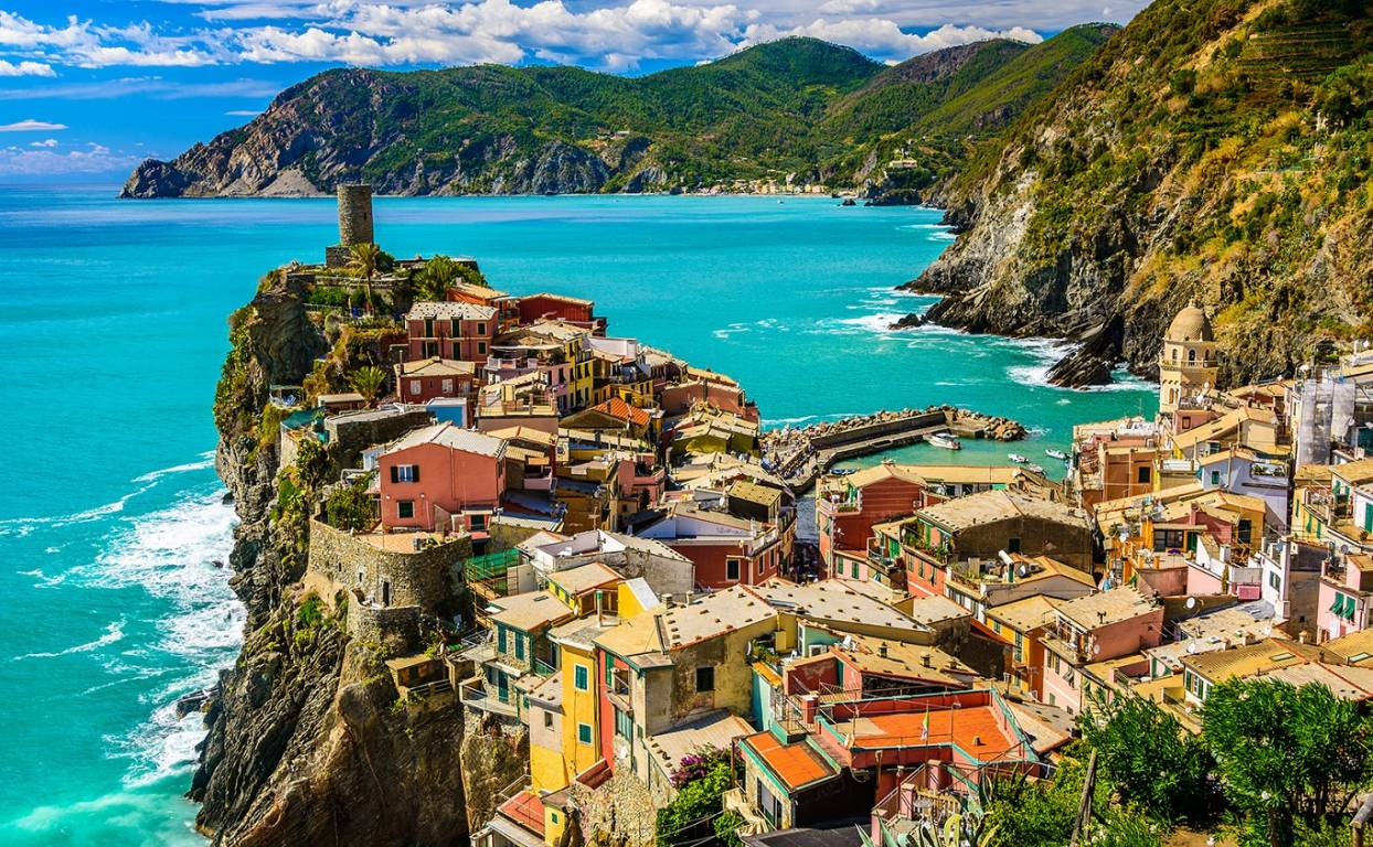 Kulturelle Besichtigungsreise Ligurien Cinque Terre