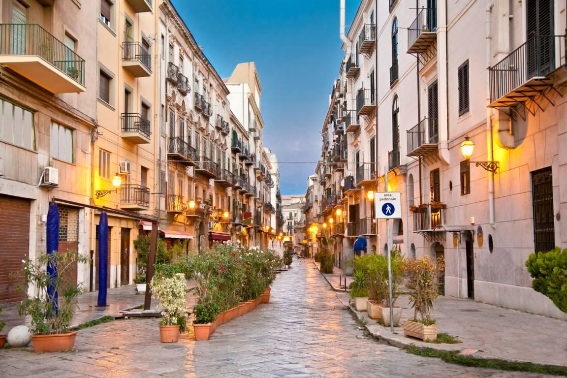 Altstadt Palermo auf Sizilien