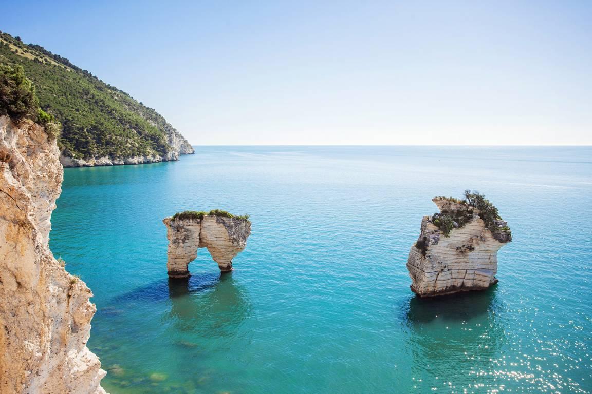 Region Apulien und Gargano Nationalpark