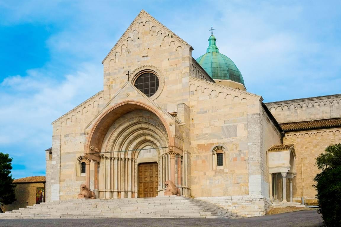 Kathedrale in der Stadt Ancona