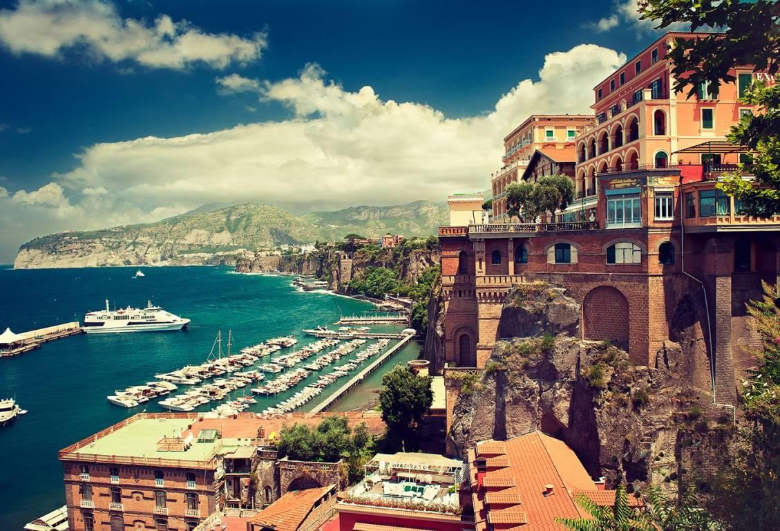 Die Küste von Sorrento