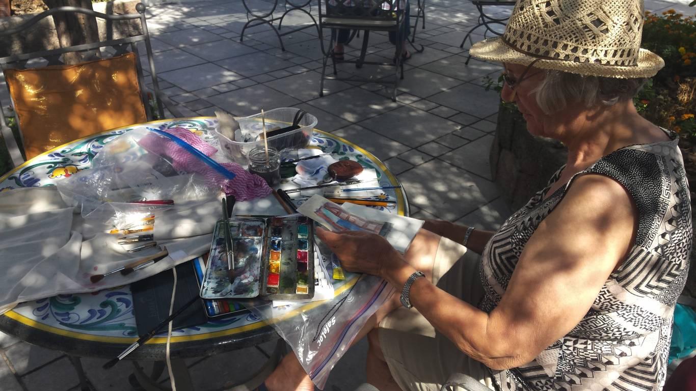 Malreise mit Beate Koslowski - Malerin aktiv