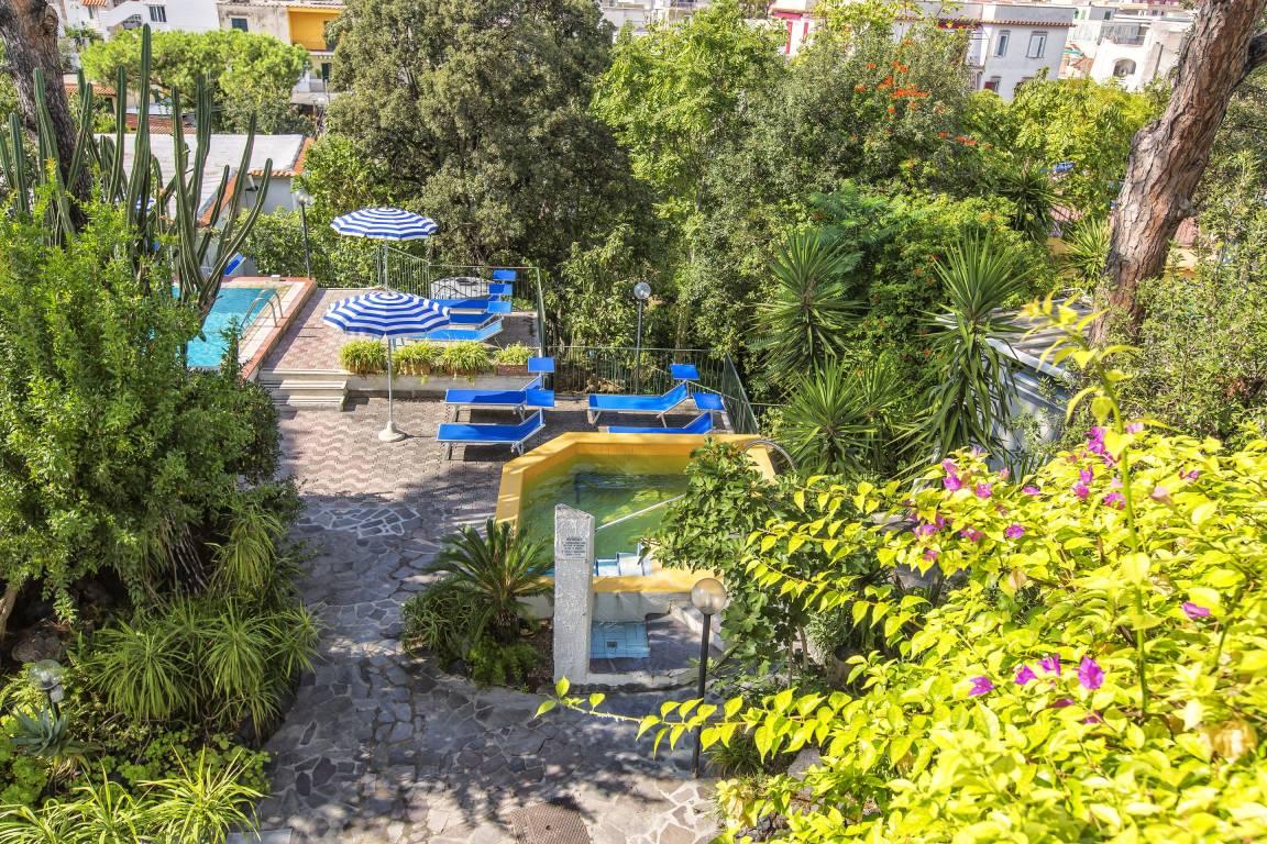 Hotel Vittoria Ischia Garten