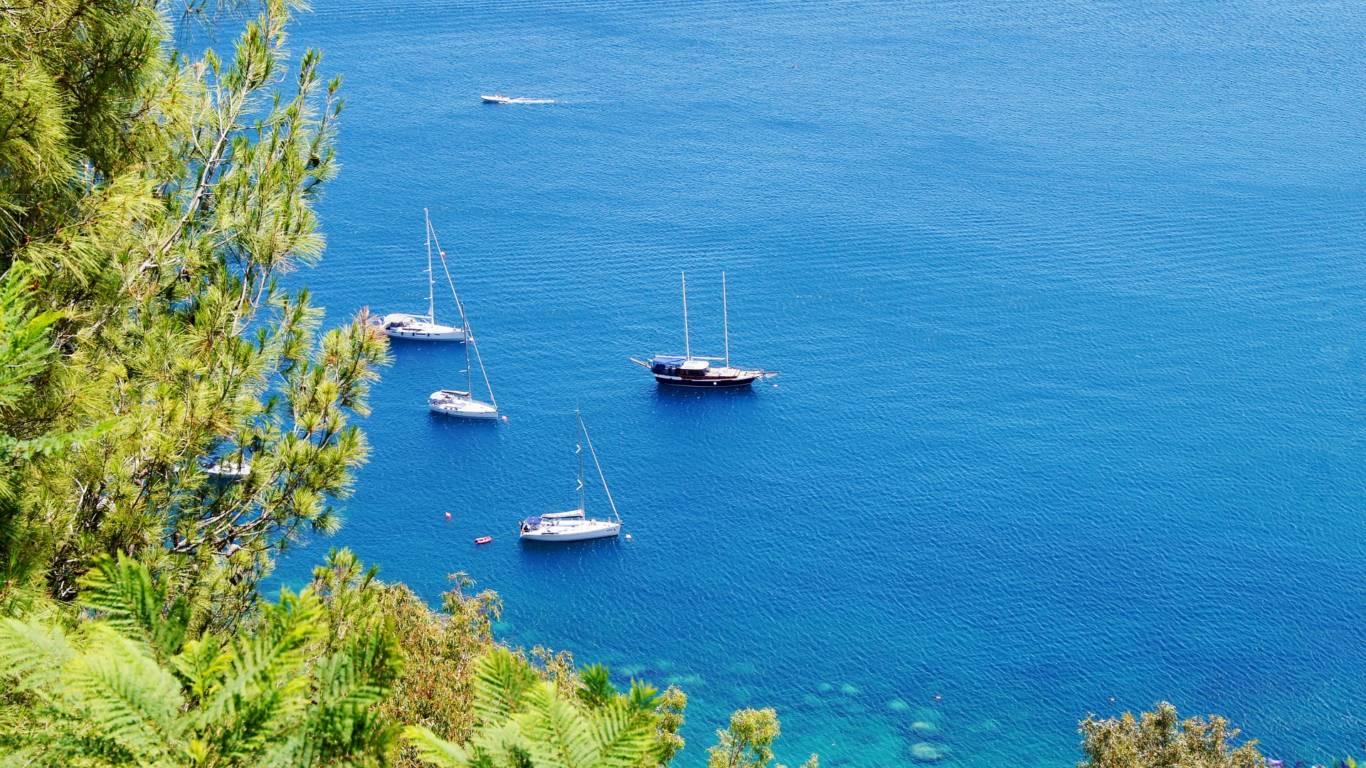 Egadi Inseln mit dem Segelboot